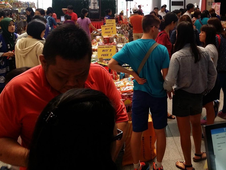 Crowds Japan Week